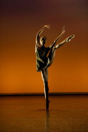 Ballet Black Cira Robinson in Henri Oguike's 'Da Gamba'