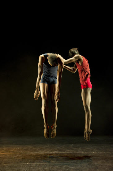 Ballet Black Cira Robinson and Jasmon Voss in Robert Hyltons 'Human Revolution'