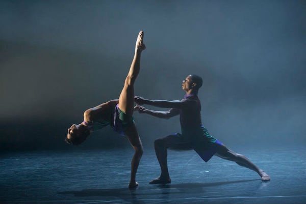 Ballet Black Sarah Kundi and José Alves in Javier de Frutos's 'The One Played Twice'