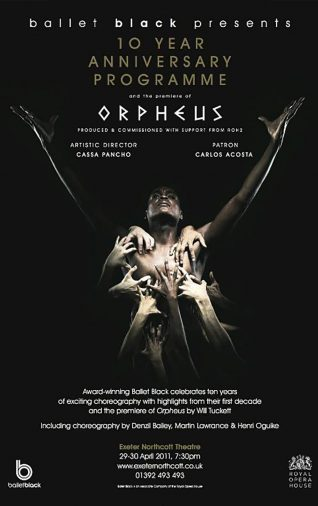 Ballet Black - Orpheus - 2011
