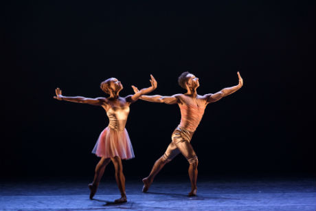 Ballet Black Marie Astrid Mence and Jacob Wye in House of Dreams by Michael Corder