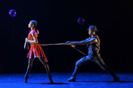 Ballet Black Cira Robinson and Mthuthuzeli November in Red Riding Hood by Annabelle Lopez Ochoa