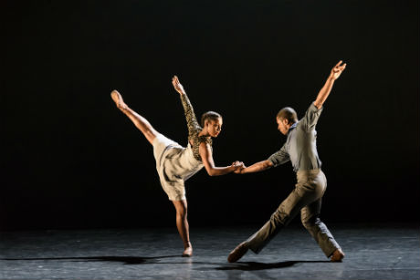 Ballet Black Isabela Coracy and Jose Alves in Captured by Martin Lawrance