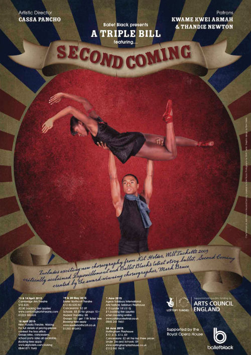 Ballet Black Ballerina Second Coming Poster 2015