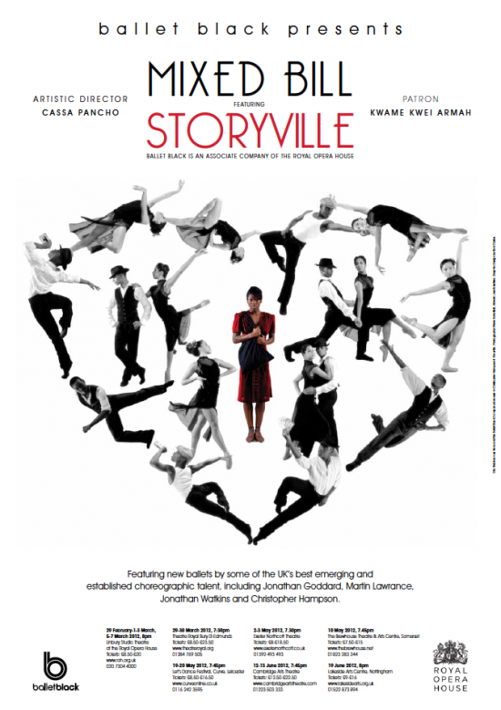 Ballet Black Ballerina Storyville Poster 2012