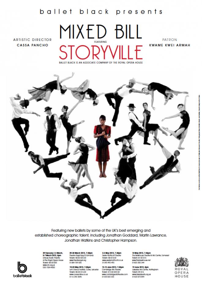 Ballet Black Storyville Poster 2012