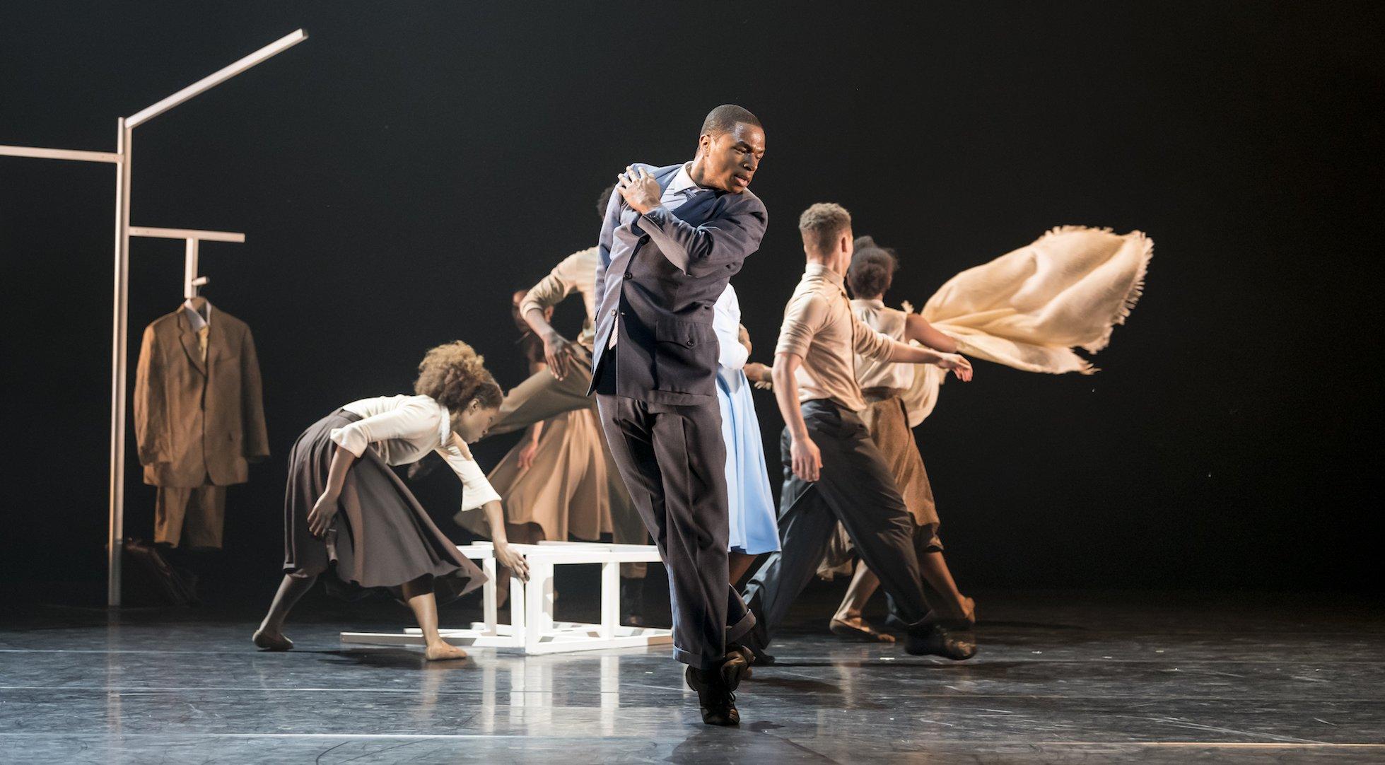Ballet Black Ballet Dancer in The Suit by Cathy Marsten