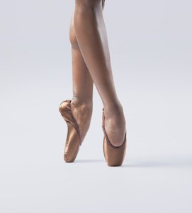 cad607b94 Freed   Ballet Black collaboration - Ballet Brown   Bronze Pointe Shoes