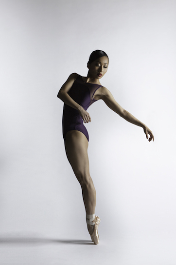 Sayaka Ichikawa wearing Freed's Ballet Pink Pointe Shoes