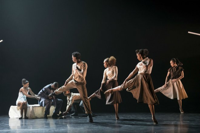 The Ballet Black Company in Cathy Marston's The Suit